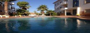 Ferienwohnung in Lagos mit Meerblick und Pool für unsere Urlauber