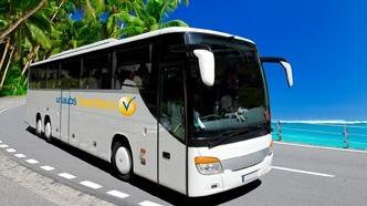 Bustransfers-Faro-Lagos Bus-Transfers Ferienwohnung Algarve-Lagos