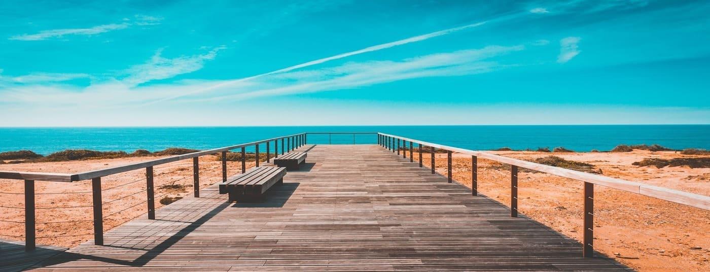 AGB Ferienwohnung Lagos Algarve Portugal Meerblick Pool Überwintern Langzeiturlaub 2 Personen von Privat Meia Praia Apartament